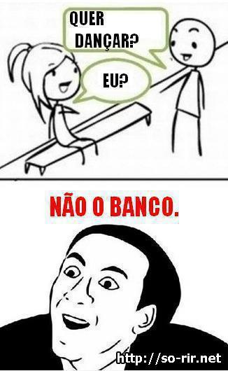 dançar banco