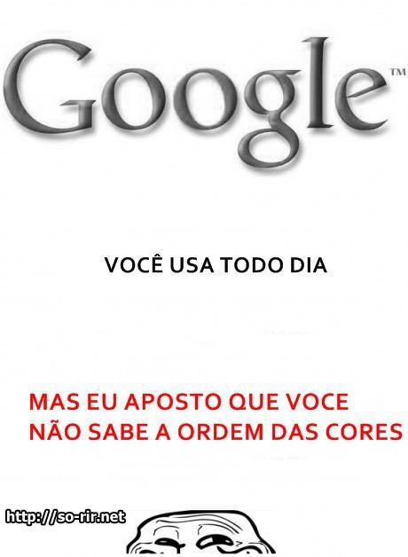 cores do google