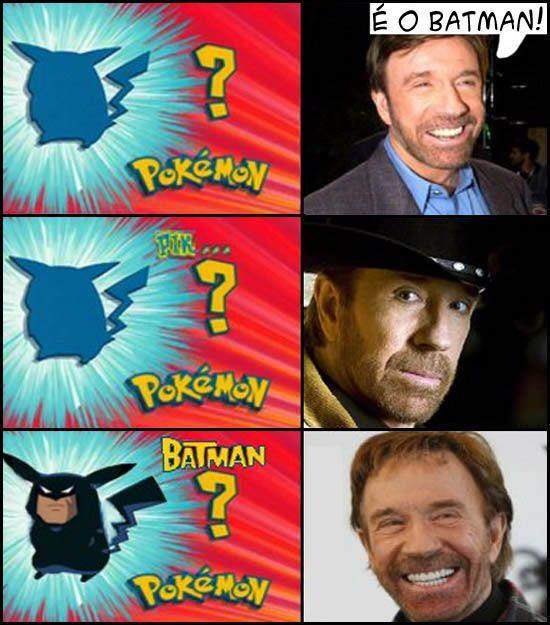 chuck norris batman pokemon