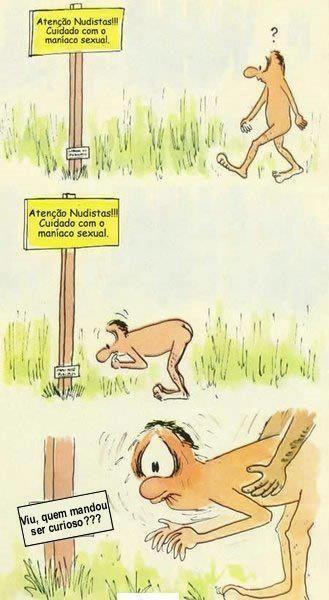 nudista curioso