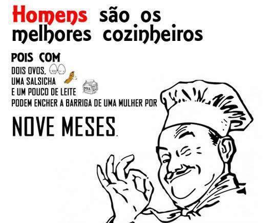 homens cozinheiros