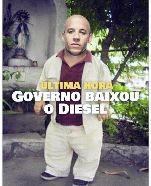 governo baixou o diesel