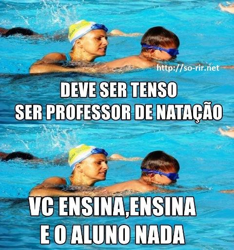 professor natacao