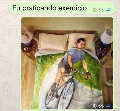 praticando exercicio