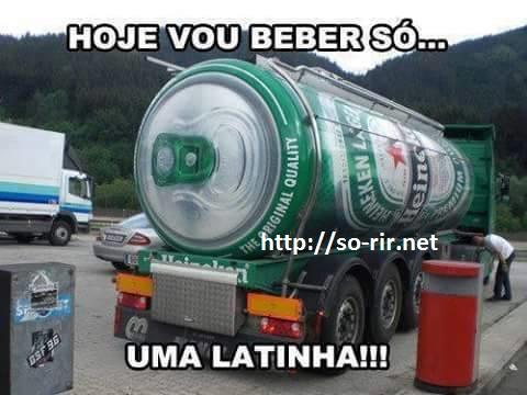 beber uma latinha