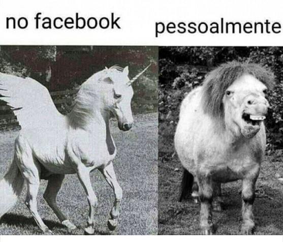 facebook pessoalmente